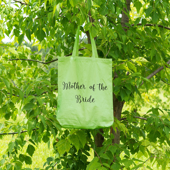 Mother of the Bride | 100% Cotton Tote Bag - Adnil Creations
