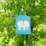 Elephant | 100% Cotton Tote Bag | Tote Bag | Adnil Creations