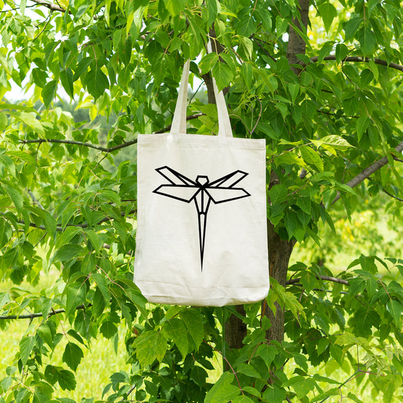 Geometric Dragonfly | 100% Cotton Tote Bag | Tote Bag | Adnil Creations