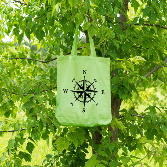 Compass Rose | 100% Cotton Tote Bag