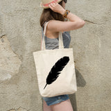 Feather | 100% Cotton Tote Bag | Tote Bag | Adnil Creations