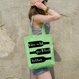 Wine a bit you'll feel better | 100% Cotton Tote Bag | Tote Bag | Adnil Creations