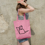 Geometric Mouse | 100% Cotton Tote Bag | Tote Bag | Adnil Creations