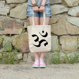 Om | 100% Cotton Tote Bag | Tote Bag | Adnil Creations