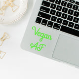 Vegan AF | Trackpad decal | Macbook Decal | Adnil Creations