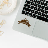 Wanderlust | Trackpad decal