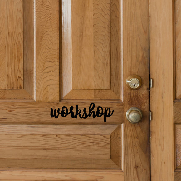 Workshop | Door Decal