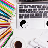 Yin Yang | Trackpad decal | Macbook Decal | Adnil Creations