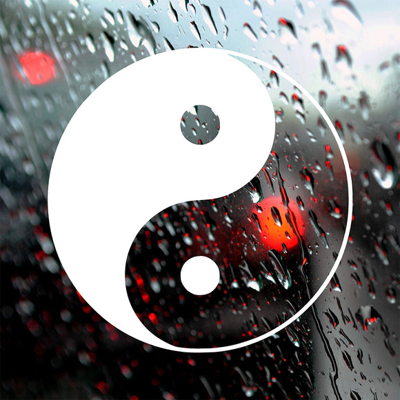 Yin Yang | Bumper Sticker | Bumper Sticker | Adnil Creations