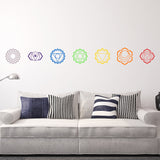 Full set of Chakras | Wall Decal | Wall Art | Adnil Creations