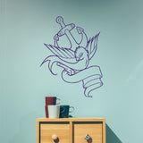 Anchor and swallow | Wall Decal | Wall Art | Adnil Creations
