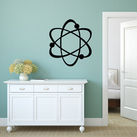 Atom | Wall Decal | Wall Art | Adnil Creations