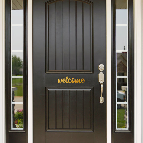 Welcome | Door Decal