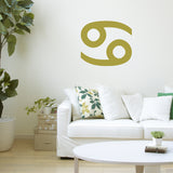 Cancer Zodiac Sign | Wall Decal | Wall Art | Adnil Creations