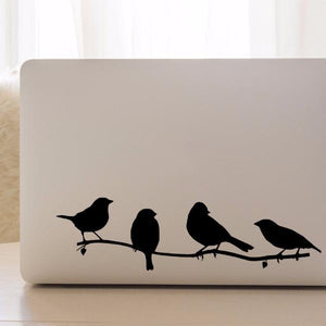 Birds on a branch | Laptop Decal | Macbook Decal | Adnil Creations