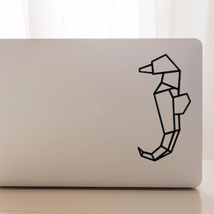 Geometric Seahorse | Laptop Decal | Macbook Decal | Adnil Creations