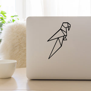 Geometric Parrot | Laptop Decal | Macbook Decal | Adnil Creations
