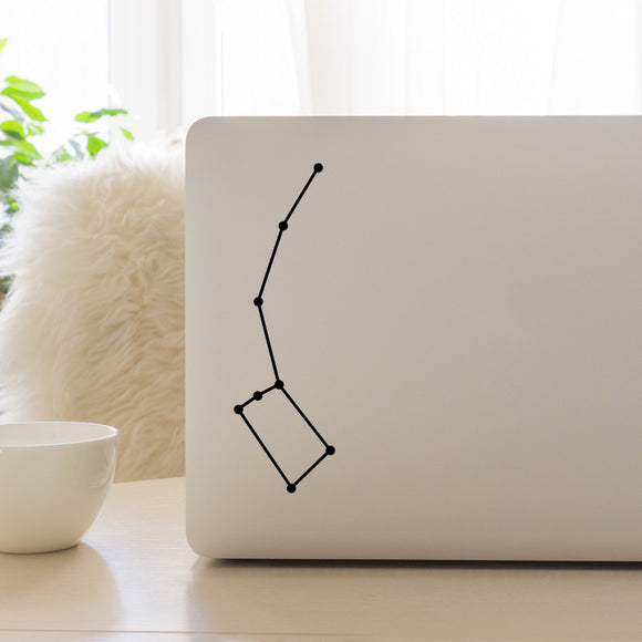 Little Dipper Constellation | Laptop Decal | Macbook Decal | Adnil Creations