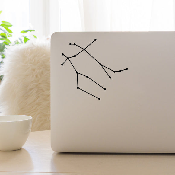 Gemini Constellation | Laptop Decal | Macbook Decal | Adnil Creations