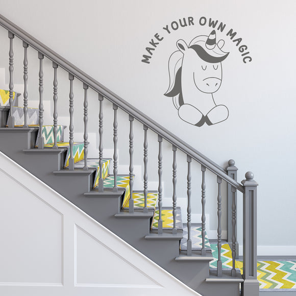 Make your own magic | Wall Decal