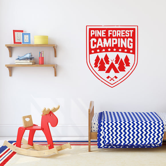 Pine forest camping | Wall Quote | Wall Quote | Adnil Creations