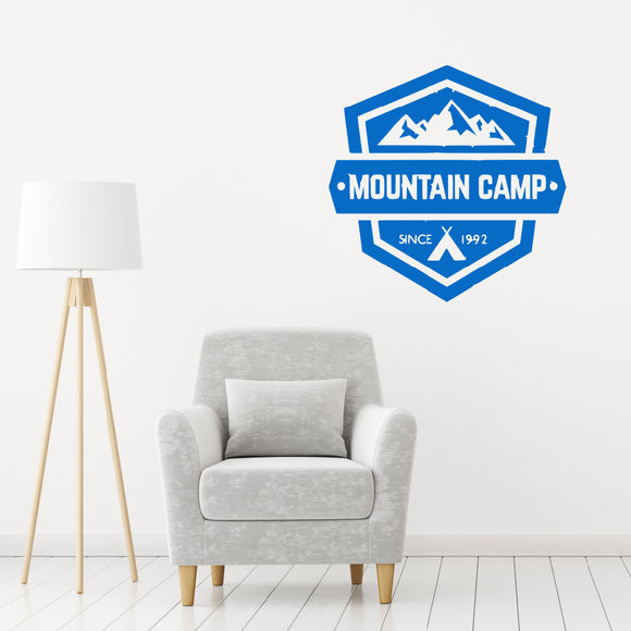 Mountain camp | Wall Quote | Wall Quote | Adnil Creations