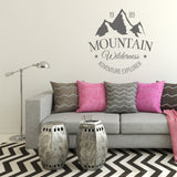 Mountain wilderness | Wall Quote | Wall Quote | Adnil Creations