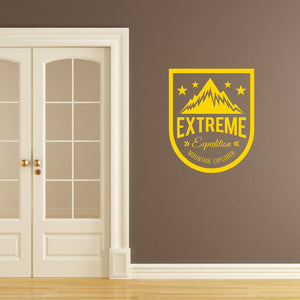Extreme expedition mountain explorer | Wall Quote | Wall Quote | Adnil Creations