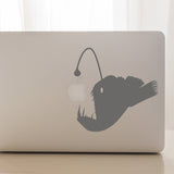 Anglerfish | Laptop Decal | Macbook Decal | Adnil Creations
