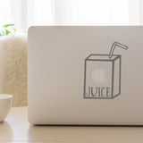 Apple Juice | Laptop Decal | Macbook Decal | Adnil Creations