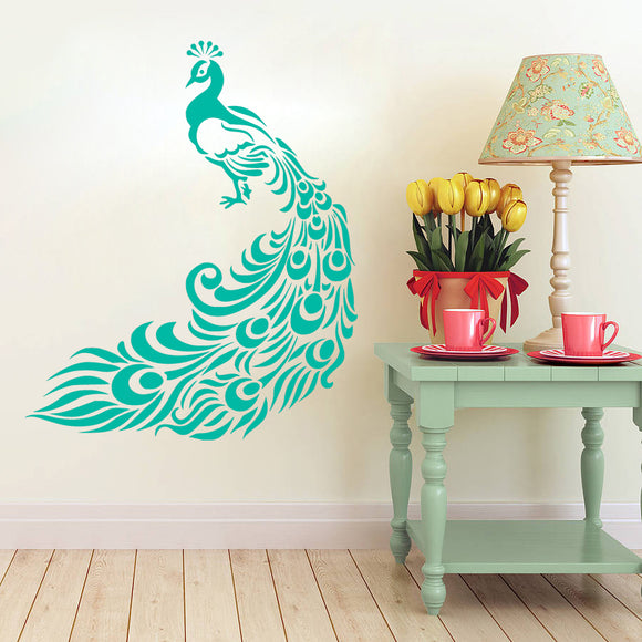 Peacock | Wall Decal | Wall Art | Adnil Creations