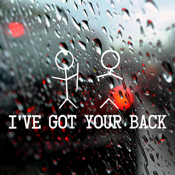 I've got your back | Bumper Sticker - Adnil Creations