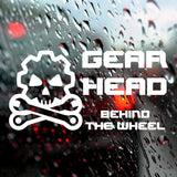 Gearhead - Bumper Sticker - Adnil Creations
