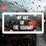 My way or the highway | Bumper Sticker | Bumper Sticker | Adnil Creations