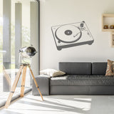 Record deck | Wall Decal | Wall Art | Adnil Creations