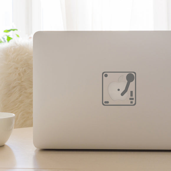 Record Player | Laptop Decal | Macbook Decal | Adnil Creations