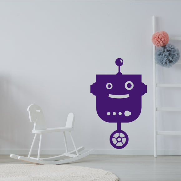 Cute robot | Wall Decal | Wall Art | Adnil Creations
