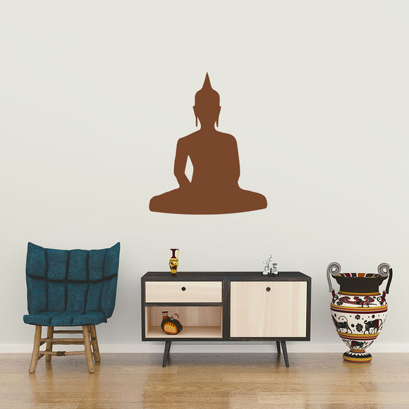 Sitting Buddha | Wall Decal