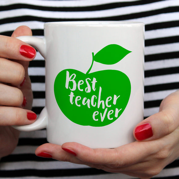 Best Teacher Ever | Mug | Mug | Adnil Creations