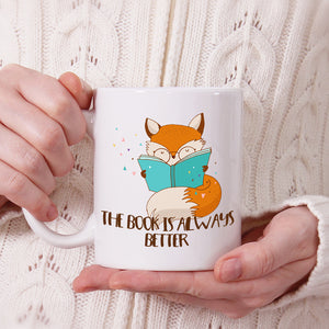 The book is always better | Mug | Mug | Adnil Creations