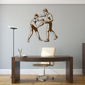 Vintage boxing | Wall Decal | Wall Art | Adnil Creations