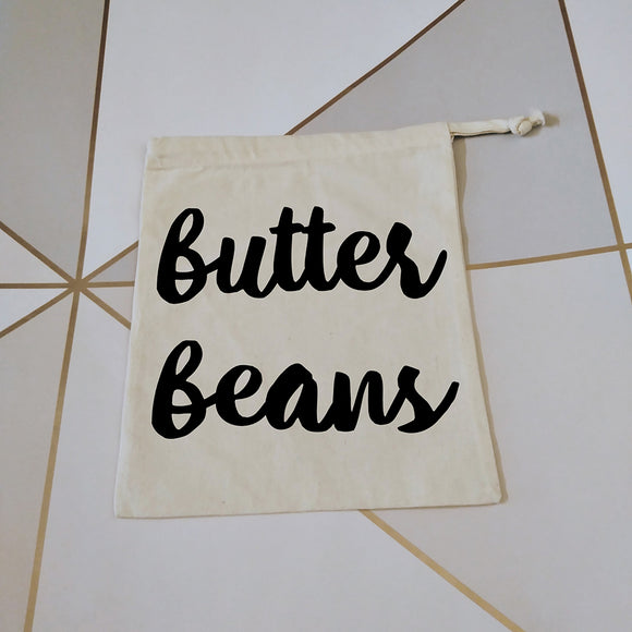 Butter beans | Zero Waste Bag | Zero Waste Bags | Adnil Creations