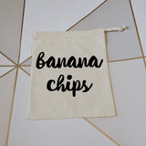 Banana Chips | Zero Waste Bag | Zero Waste Bags | Adnil Creations
