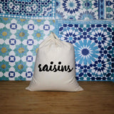 Raisins | Zero Waste Bag | Zero Waste Bags | Adnil Creations