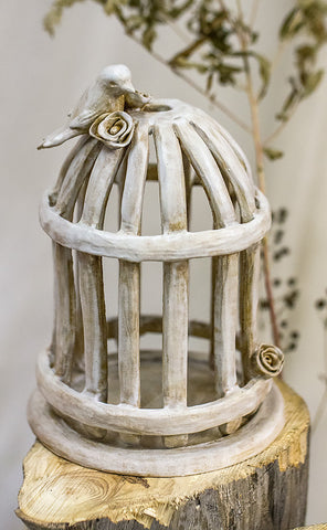 Birdcage Candle Holder