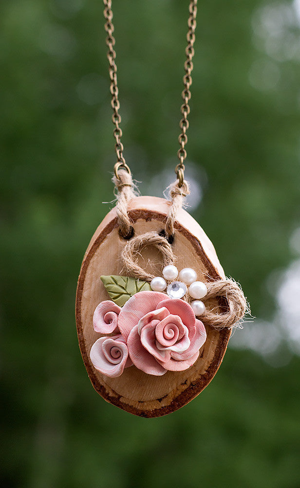 Country Rose Pendant