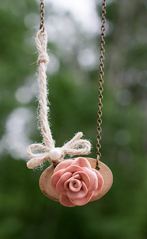 Country Rose Necklace