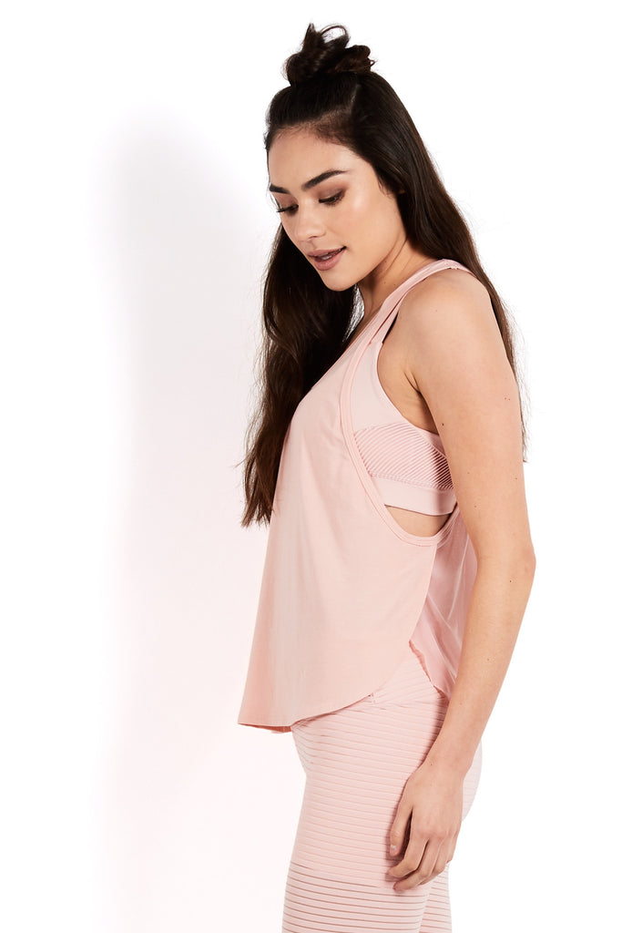 ALTISSIMO TANK TOP - BLUSH