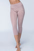 Catalonia Cropped Legging / Dusty Rose