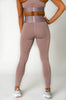 Lennox Legging - Dusty Rose